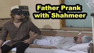 Father Prank With Shahmeer | Allama pranks |Totla Reporter |Lahoretv pranks