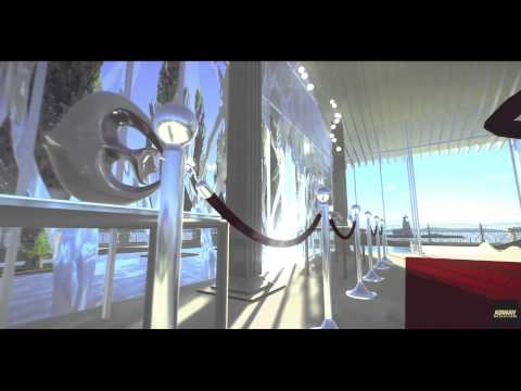"""RT Architectural visualization video - """"Water Pavilion"""""""