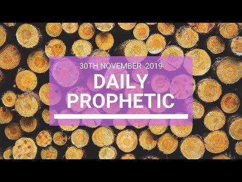 Daily Prophetic 30 November Word 4