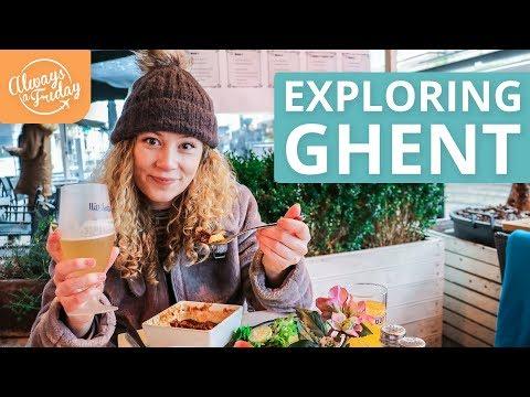 EXPLORING GHENT, BELGIUM - Waterzooi & Steak Frites, Gravensteen, Cathedral & Belfry Tower - UCWmBYPbsGaGDOo3UExFOCew