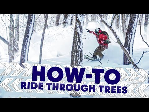 How To Ride Through The Trees | Shred Hacks - UCblfuW_4rakIf2h6aqANefA