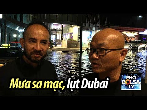Chuyện lạ có thật: Mưa sa mạc, lụt Dubai