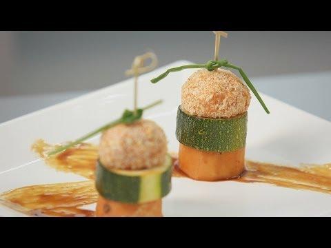 Канапе из овощей и куриного филе - рецепт Уриэля Штерна - UC7owzCCnr27dwPKdB7ry1yA