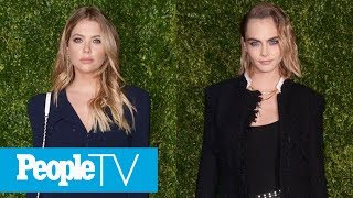 Ashley Benson's New Tattoo Appears To Be A Sweet Tribute To Girlfriend Cara Delevingne | PeopleTV