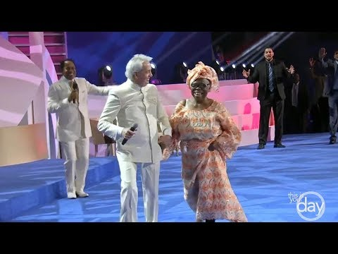 Fire of the Holy Spirit is Sweeping Across Nigeria - A special sermon from Benny Hinn
