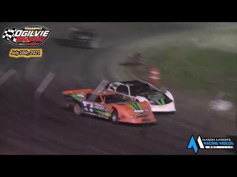 Ogilvie Raceway WISSOTA Super Stock A-Main (7/10/21) - dirt track racing video image