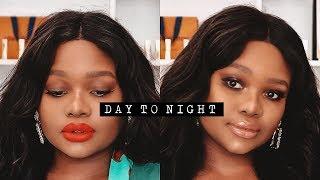 DAY TO NIGHT MAKEUP LOOK | Cynthia Gwebu