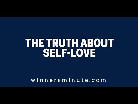 The Truth About Self-Love  The Winner's Minute With Mac Hammond