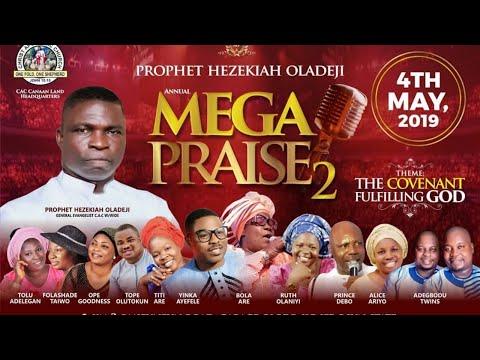 Live @ PROPHET HEZEKIAH ANNUAL MEGA PRAISE 2