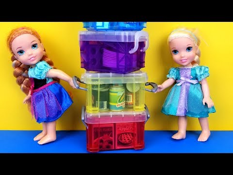 Moving Day ! Elsa and Anna toddlers are packing - UCQ00zWTLrgRQJUb8MHQg21A