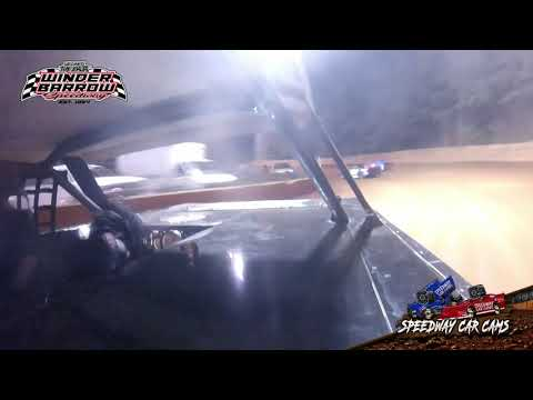 #03 Kyle Braswell - Stock 4A - 9-4-21 Winder Barrow Speedway - In-Car Camera - dirt track racing video image