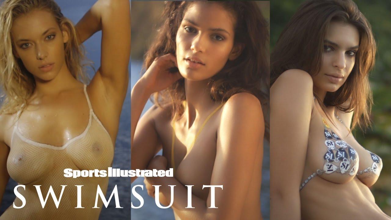 Emily Ratajkowski, Hannah Ferguson & More Strip Down For Body Painting   Sports Illustrated Swimsuit