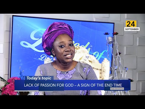 Dr Becky Paul-Enenche - SEEDS OF DESTINY  TUESDAY 24TH SEPTEMBER, 2019