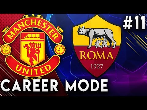 FIFA 19 Manchester United Career Mode EP11 - Champions League Returns!! Facing Roma!!