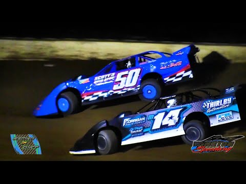 6-18-21 Late Model Feature Winston Speedway - dirt track racing video image