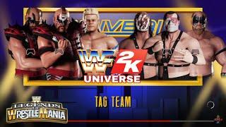 #16 WWF LEGENDS OF WRESTLEMANIA - Legion of Doom/Lex Luger vs Demolition/Warlord ||Modo Universo||