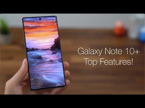 Samsung Galaxy Note 10+ Top 5 Features! - UCbR6jJpva9VIIAHTse4C3hw