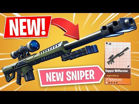 FORTNITE *NEW* LEGENDARY SNIPER!! (Fortnite Save The World) - UC2wKfjlioOCLP4xQMOWNcgg