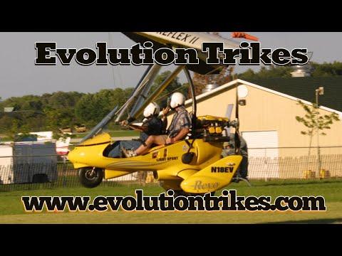Evolution Trikes, Revo, Revolt, Rev, Rev X, weight shift control ultralight, experimental & LSA.