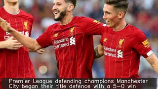 PL defending champs Man City begin new season with a win