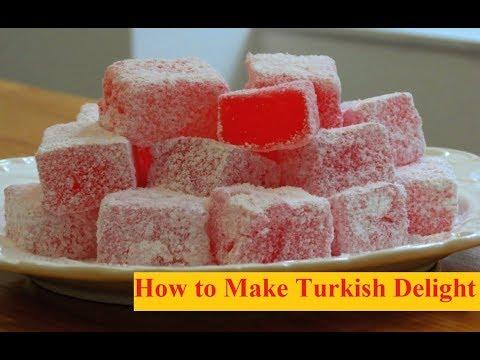 Turkish Delight from Chronicles of Narnia Recipe    Lokum Recipe