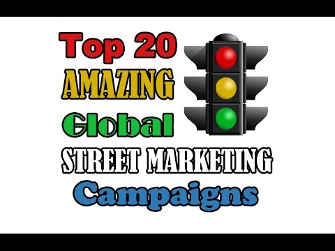Top 20 AMAZING Global STREET MARKETING Campaigns - UC1UMshhDjWrHIDFWkVKZxbw