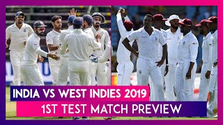India vs West Indies 2019, 1st Test Match Preview: IND Look to Carry Limited-Overs Momentum in Tests