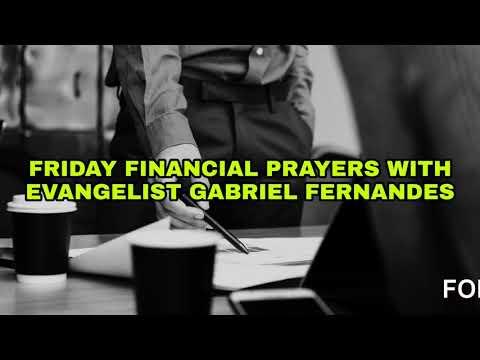 GOD WILL BRING OVERFLOW, Friday Financial Prayers 21 december 2018