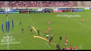New Zealand U20s score cracking try