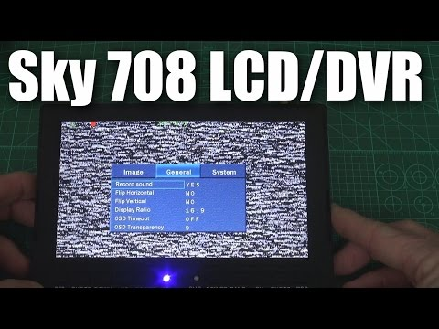 On the bench: Sky-708 LCD/DVR from Foxtech FPV - UCahqHsTaADV8MMmj2D5i1Vw