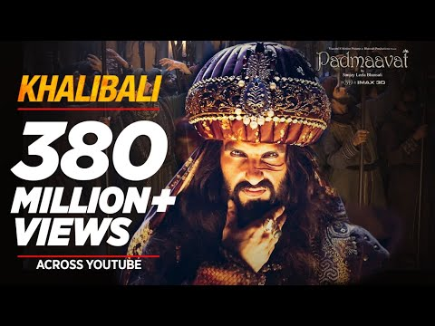 KHALIBALI LYRICS with Arabic Part - Padmaavat | Ranveer Singh [Updated]