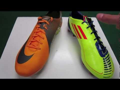 31a50d6376f ... TRX FG - Synthetic - Electricity Infrared Sharp Purple Anodized -  UNBOXING videos. Video Adidas F50 adizero VS Nike Mercurial Vapor VII -  Comparison - ...