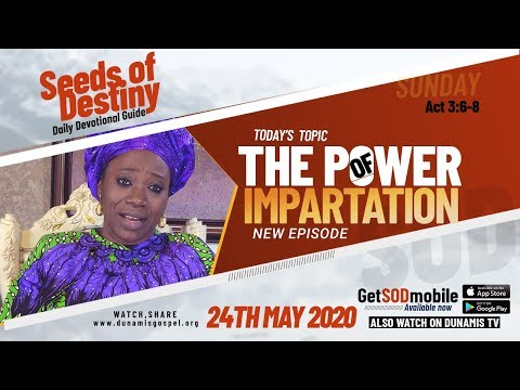 Dr Becky Paul-Enenche - SEEDS OF DESTINY - SUNDAY, 24 MAY, 2020