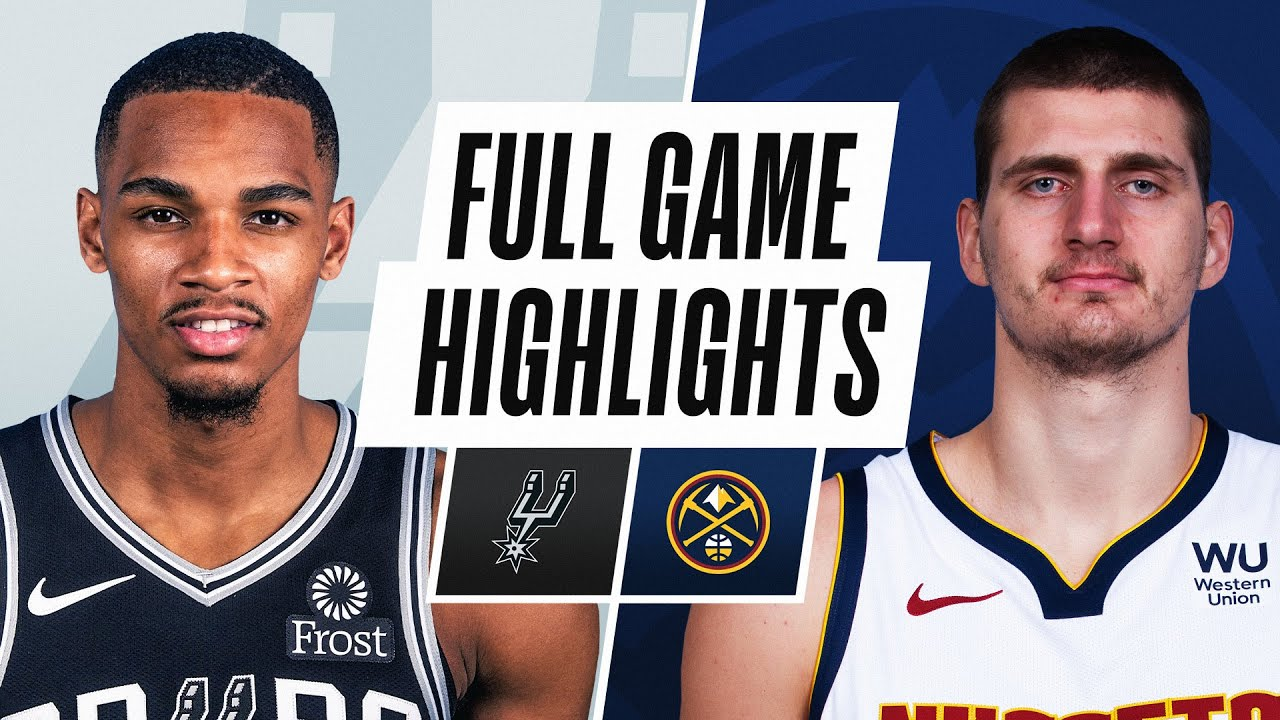 SPURS at NUGGETS | FULL GAME HIGHLIGHTS | April 7, 2021
