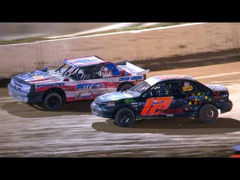 Kids Mini Stock Feature | Bradford Speedway | 8-6-21 - dirt track racing video image