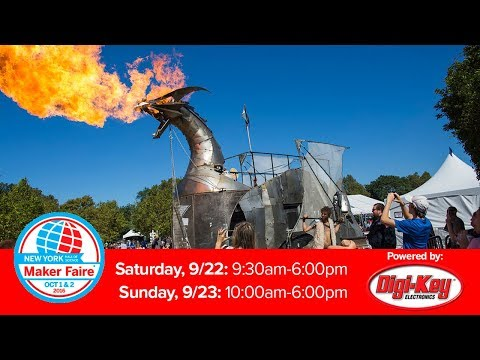 Maker Faire New York 2018 Official Live Stream Presented by DigiKey - UChtY6O8Ahw2cz05PS2GhUbg