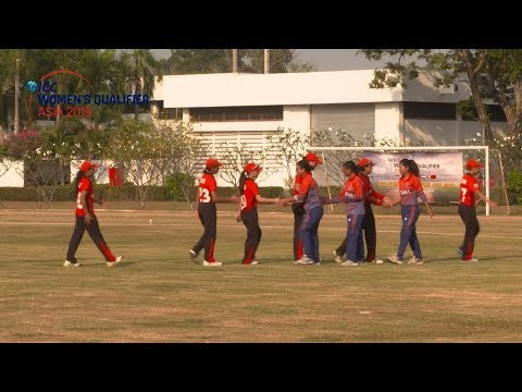 ICC Women's Asia Qualifier 2019: Nepal v Hong Kong Highlights
