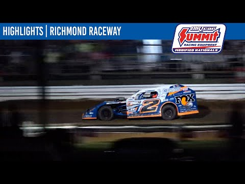 DIRTcar Summit Modifieds Richmond Raceway July 25, 2021 | HIGHLIGHTS - dirt track racing video image
