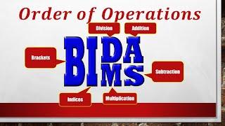 BIDMAS video