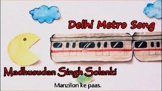 Delhi Metro song Remix ft Roll Rida  - madhusudan , HipHop