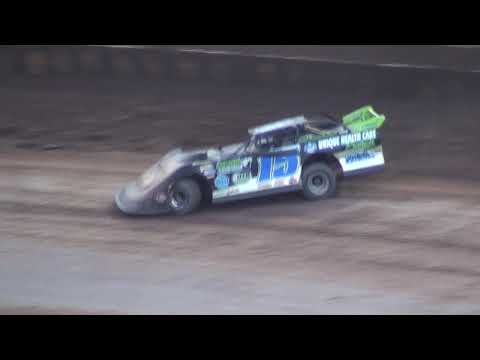 USA Nationals Local Late Model Saturday Feature - Cedar Lake Speedway 08/07/2021 - dirt track racing video image