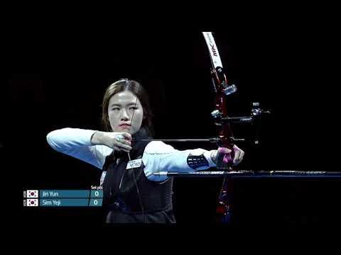 Sim Yeji shoots 12 10s and perfect archery match