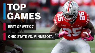 Top Games of 2018: Week 7 | Minnesota Golden Gophers vs. Ohio State Buckeyes | B1G Football