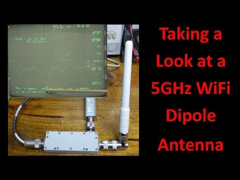 Taking a Look at a 5GHz WiFi Dipole Antenna - UCHqwzhcFOsoFFh33Uy8rAgQ