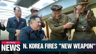 N. Korea releases photos from latest test of weapon resembling U.S. ATACMS