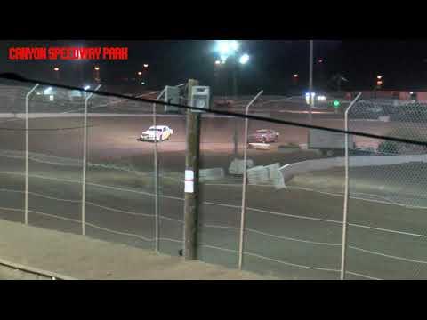 Canyon Speedway Park  IMCA Hobby Stock Main   April 10 2021 - dirt track racing video image