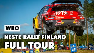 Exclusive Citroen Tour w/ Esapekka Lappi @Neste Rally Finland 2019   WRC 2019