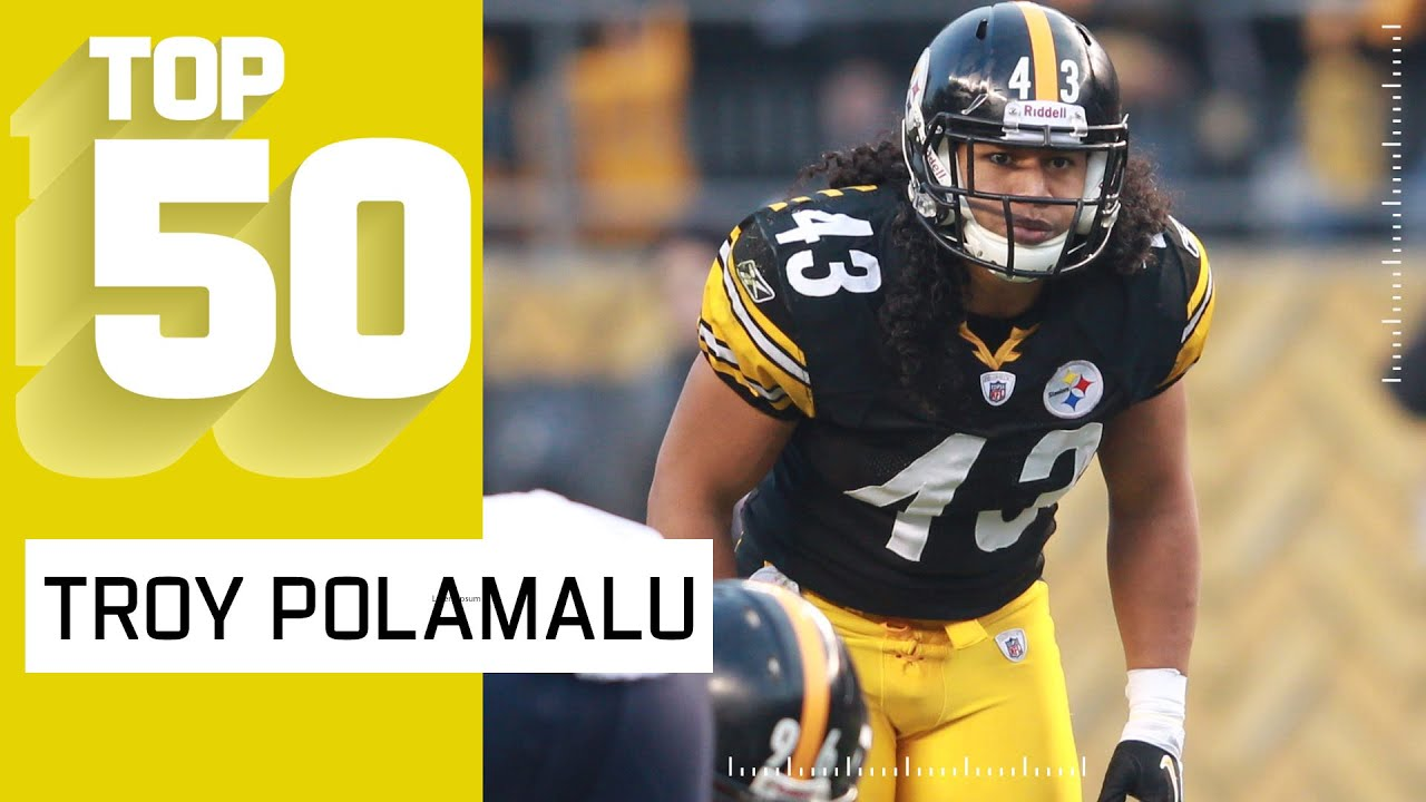 Troy Polamalu Top 50 Most Dynamic Plays!