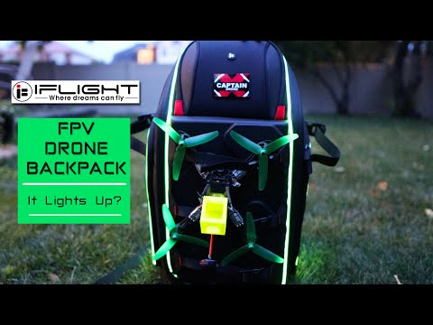 My new Super Cool iFlight FPV Drone Backpack - Review - UCm0rmRuPifODAiW8zSLXs2A