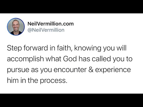 Meet Me In The Space Of Your Activity - Daily Prophetic Word